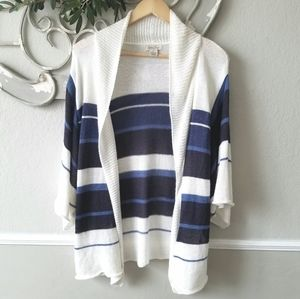 Lucky Brand - Open Wrap Cardigan Sweater